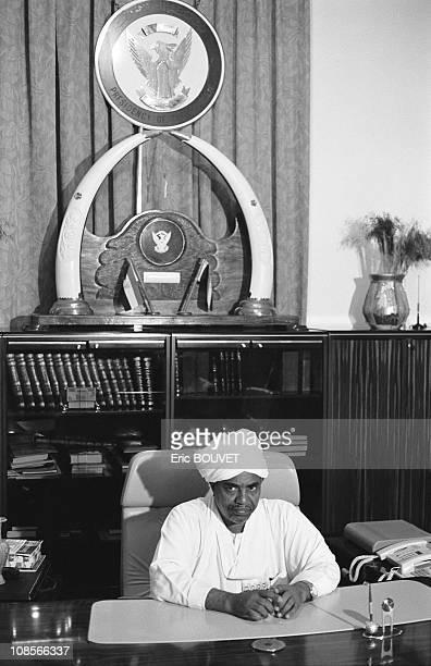 Omar al Bashir, President of Sudan in Khartoum, Sudan in August, 1998.