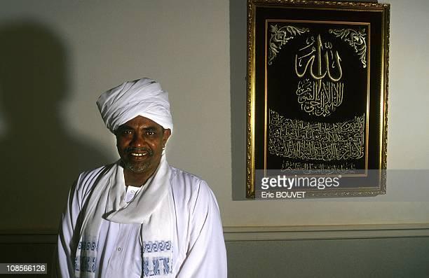 Omar al Bashir, president of Sudan in Khartoum, Sudan on August 01st, 1998.