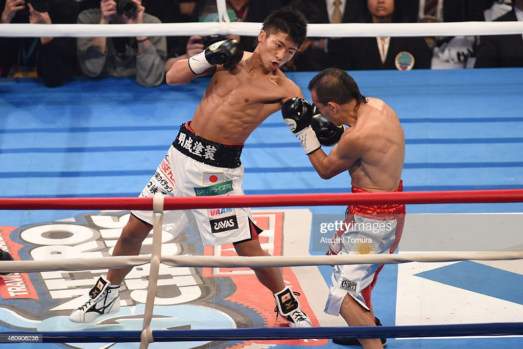Omar Andres Narvaez v Naoya Inoue - WBO World Super Flyweight Title Bout : News Photo