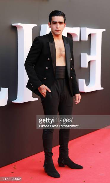 Omar Ayuso attends Elite 2nd Season Premiere at Callao Cinema on August 29 2019 in Madrid Spain