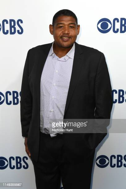 Omar Benson Miller attends the 2019 CBS Upfront at The Plaza on May 15 2019 in New York City