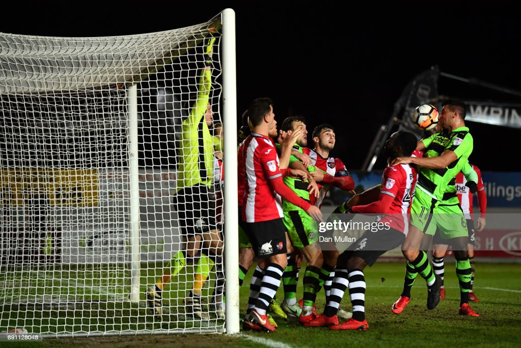 Exeter City v Forest Green - The Emirates FA Cup Second Round Replay