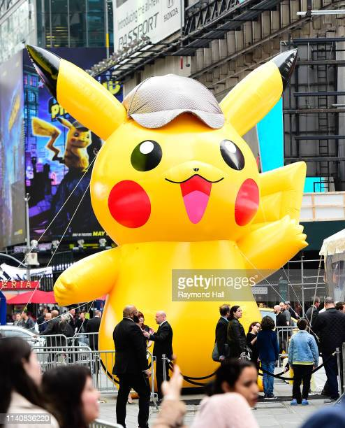 Omar Chaparro attends Pokemon Detective Pikachu US Premiere at Times Square on May 2 2019 in New York City