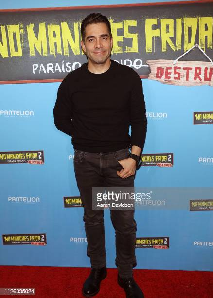 Omar Chaparro attends the Miami VIP screening of No Manches Frida 2 at CMX Brickell City Centre on February 20 2019 in Miami Florida