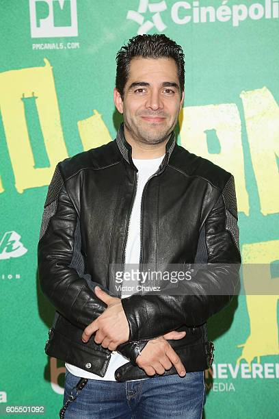 Omar Chaparro attends the No Manches Frida Mexico City premiere at Cinepolis Plaza Universidad on September 13 2016 in Mexico City Mexico