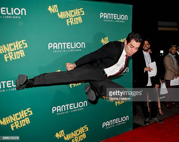 Omar Chaparro attends the premiere of Pantelion Films 'No Manches Frida' at Regal LA Live Stadium 14 on August 30 2016 in Los Angeles California
