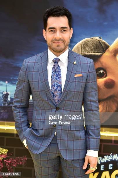 Omar Chaparro attends the premiere of Pokemon Detective Pikachu at Military Island in Times Square on May 2 2019 in New York City