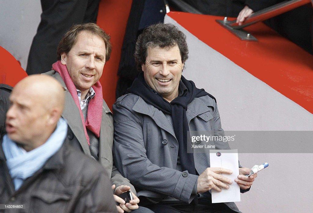 Personnalities Attend PSG FC vs Sochaux Montbeliard FC - French League 1 : News Photo