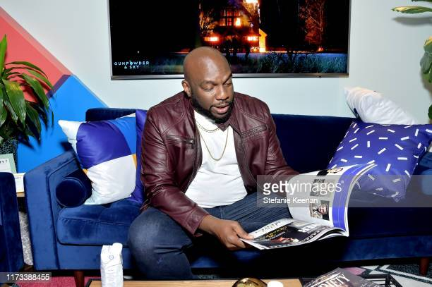 Omar D'Orsey stops by AT&T ON LOCATION during Toronto International Film Festival 2019 at Hotel Le Germain on September 09, 2019 in Toronto, Canada.
