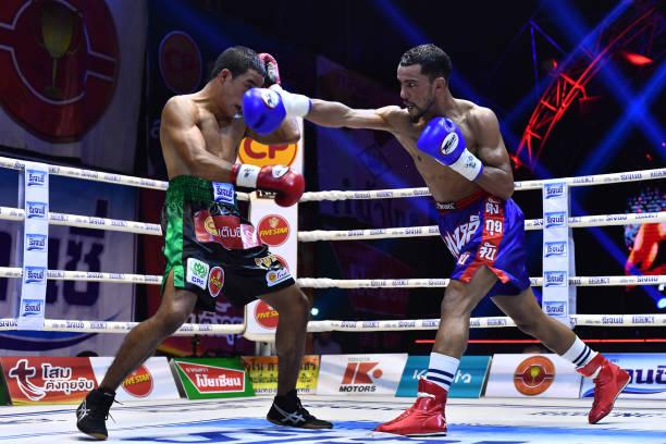 THA: Wanchana Meenayothin v Omar Elquers - WBC Asia Super Featherweight