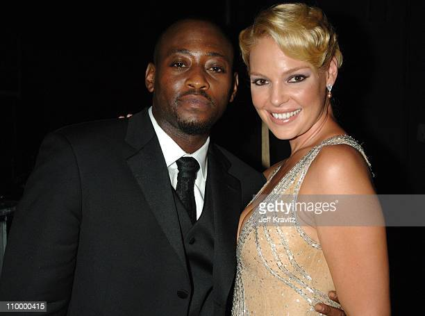 Omar Epps and Katherine Heigl presenters Outstanding Supporting Actor In A Comedy Series