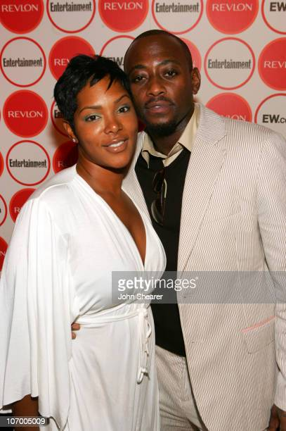 Omar Epps and wife Keisha Epps during Entertainment Weekly Magazine 4th Annual Pre-Emmy Party - Inside at Republic in Los Angeles, California, United...
