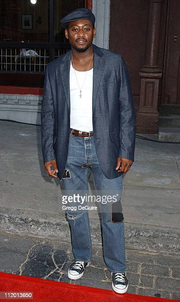 Omar Epps during 2004 Fox All-Star Party at 20th Century Fox Studios in Los Angeles, California, United States.
