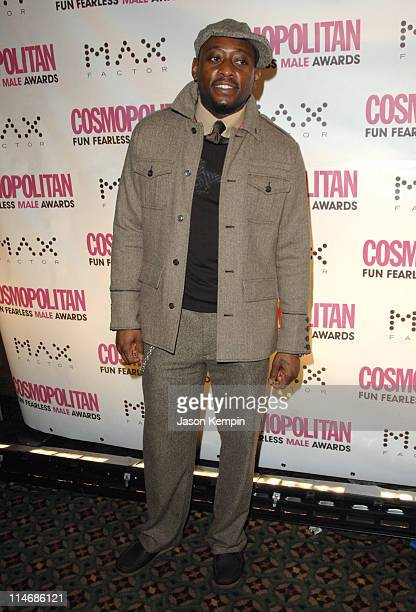 Omar Epps during Cosmopolitan Magazine Honors Nick Lachey as 'Fun Fearless Man of the Year' January 22 2007 at Cipriani's 42nd Street in New York...