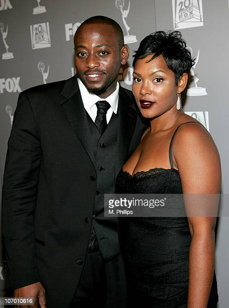 Omar Epps with his wife Keisha Epps during 58th Annual Primetime Emmy Awards FOX After Party Arrivals at Spago in Beverly Hills California United...