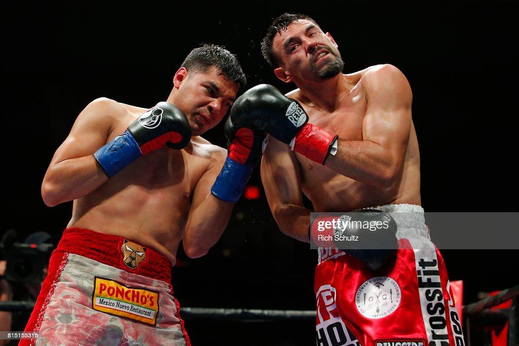 Omar Figueroa v Robert Guerrero : News Photo