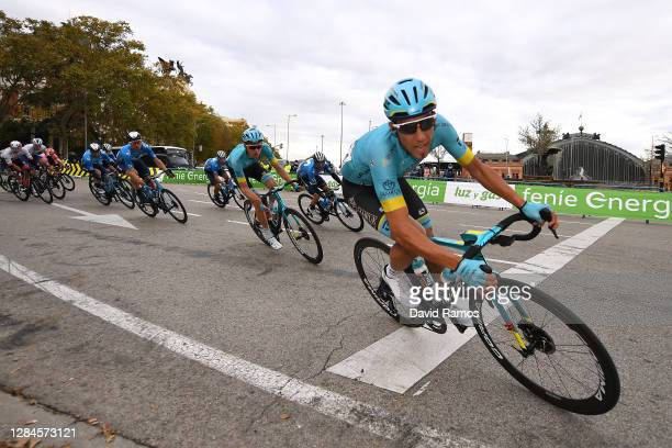 Omar Fraile Matarranz of Spain and Astana Pro Team / Aleksander Vlasov of Russia and Astana Pro Team / Alejandro Valverde Belmonte of Spain and...