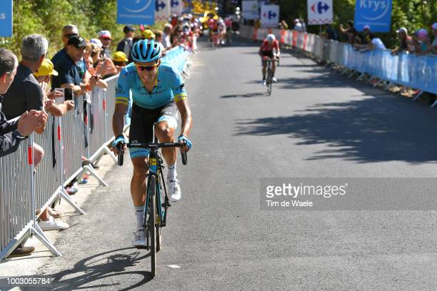 Omar Fraile of Spain and Astana Pro Team / during the 105th Tour de France 2018 Stage 14 a 188km stage from SaintPaulTroisChateaux to Mende 1030m /...