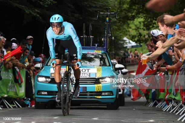 Omar Fraile of Spain and Astana Pro Team / during the 105th Tour de France 2018, Stage 20 a 31km Individual Time Trial stage from...
