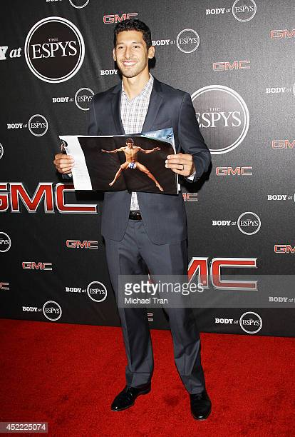 Omar Gonzalez arrives at the BODY at ESPYS PreParty held at Lure on July 15 2014 in Hollywood California