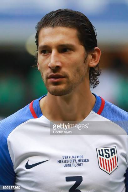 Omar Gonzalez of United States during the match between Mexico and The United States as part of the FIFA 2018 World Cup Qualifiers at Azteca Stadium...