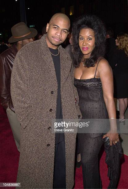 Omar Gooding Mom Shirley during Men of Honor Premiere at The Academy in Beverly Hills California United States