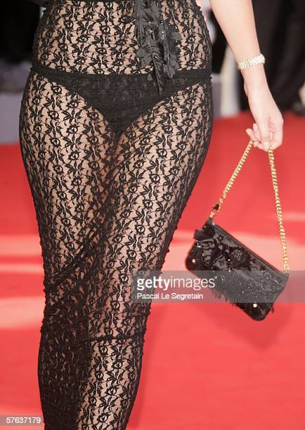 Omar Harfouch's girlfriend Helena attends The Da Vinci Code World Premiere Opening Gala at the Palais during the 59th International Cannes Film...