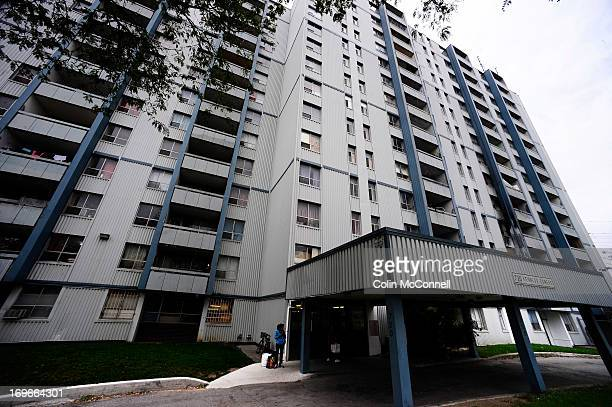 Omar Khadr was flown back to serve the rest of his time in a Canadian jail today on September 29th 2012 pics of the building where his family now...