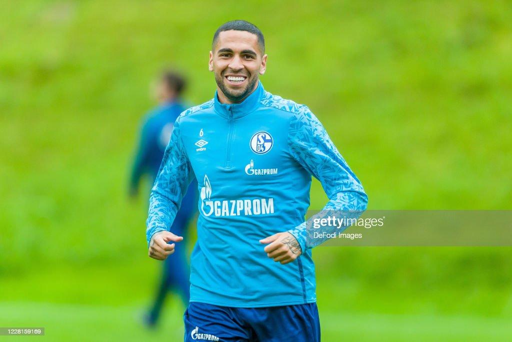 FC Schalke 04 Training Camp : News Photo