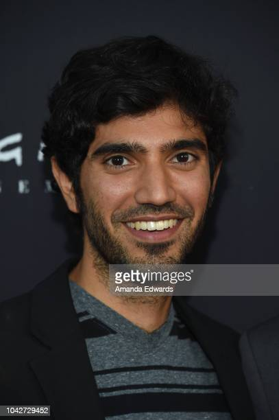 """Omar Maskati attends the Closing Night Screening of """"Nomis"""" during the 2018 LA Film Festival at ArcLight Cinerama Dome on September 28, 2018 in..."""
