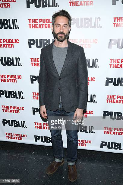 Omar Metwally attends The Public Theater Presents 'Antony And Cleopatra' Opening Night at The Public Theater on March 5 2014 in New York City