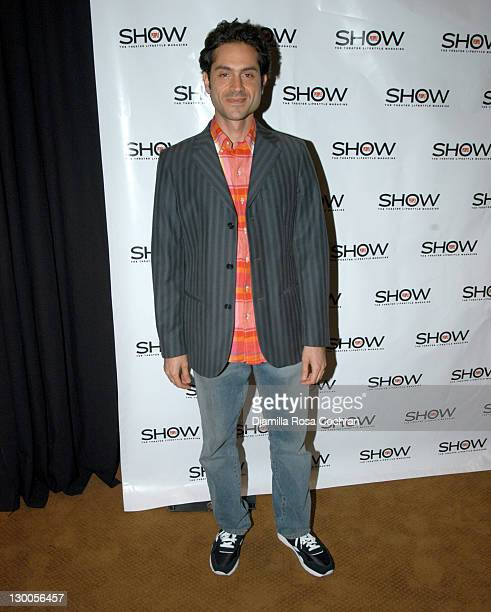 Omar Metwally during 1st Annual 'Show People' Tony Awards Party at Gotham Hall in New York City New York United States