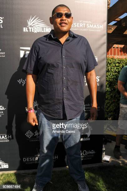 Omar Miller arrives at The 14th Annual Desert Smash Celebrity Tennis Event on March 6 2018 in La Quinta California