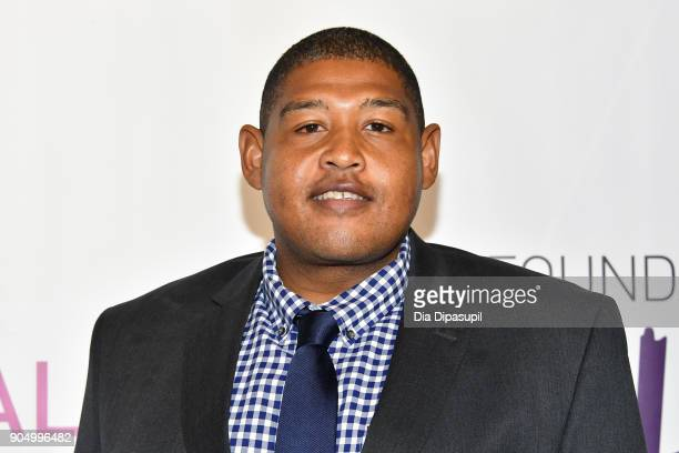 Omar Miller attends the 2018 National Retail Federation Gala at Pier 60 on January 14 2018 in New York City
