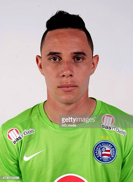 Omar of Esporte Clube Bahia poses during a portrait session August 14 2014 in SalvadorBrazil