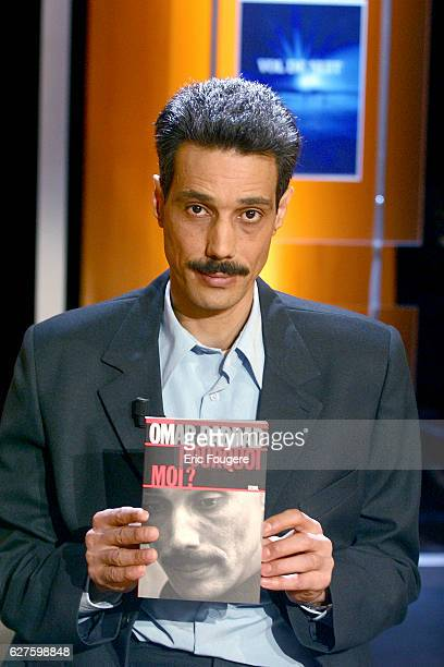 Omar Raddad author of 'Pourquoi moi' one of the guests appearing on the literary television programme 'Vol de nuit'