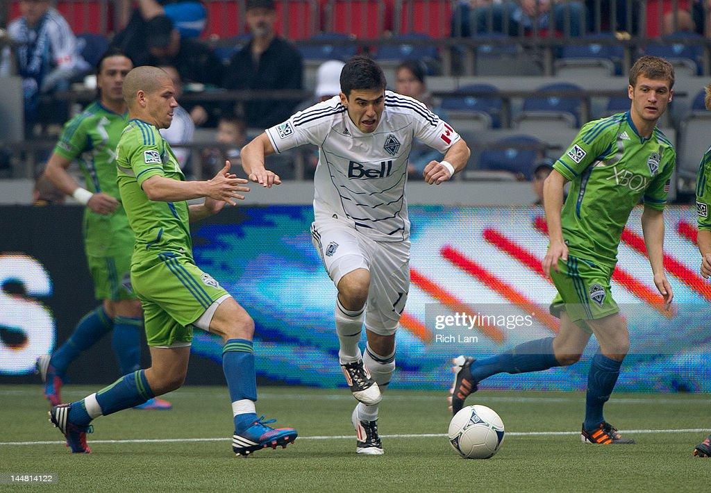 Seattle Sounders v Vancouver Whitecaps : News Photo