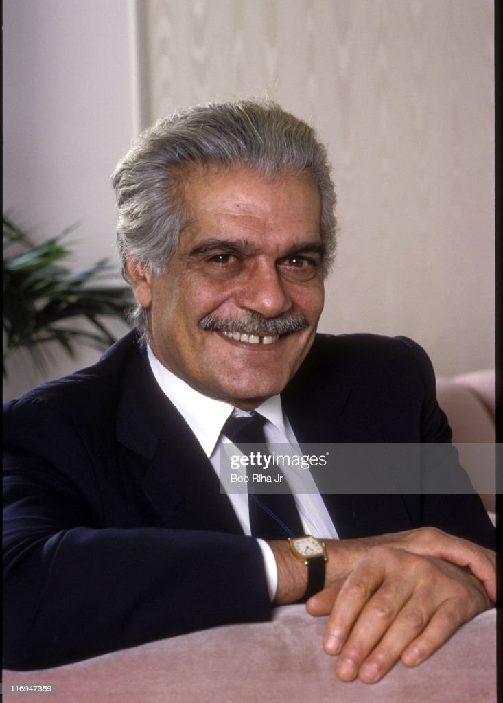Omar Sharif Portrait Session - Circa 1990