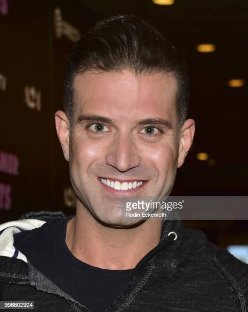 Omar Sharif Jr arrives at the screening of A24's 'Hot Summer Nights' at Pacific Theatres at The Grove on July 11 2018 in Los Angeles California