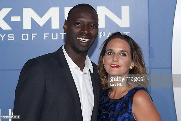 """Omar Sy attends the """"X-Men: Days of Future Past"""" global premiere at Jacob K. Javits Convention Center in New York City. © LAN"""