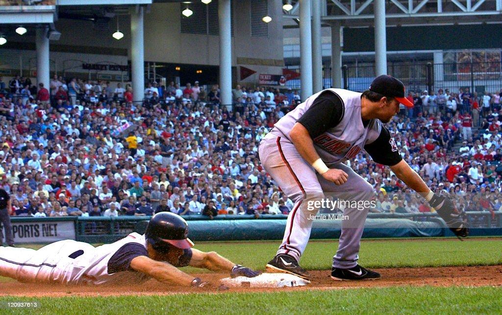 MLB - Cleveland Indians vs Cincinnati Reds - June 12, 2004