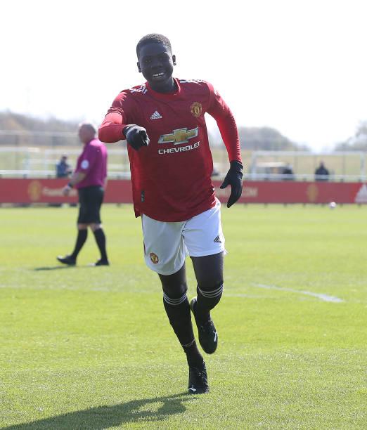 GBR: Manchester United v Stoke City - U18 Premier League