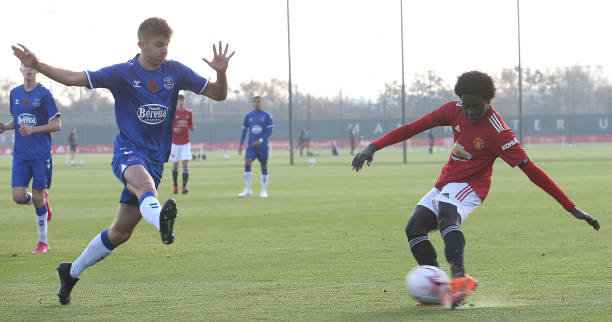 GBR: Manchester United v Everton - Premier League U18