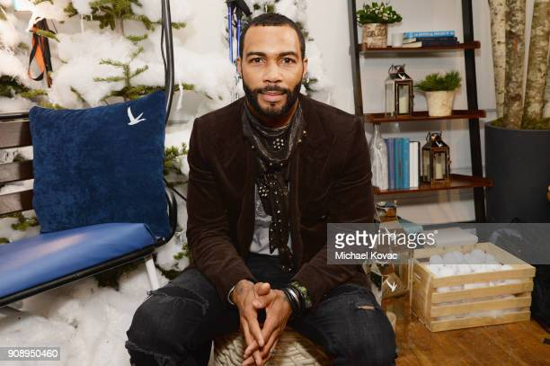Omari Hardwick attends as Grey Goose Blue Door hosts the casts of gamechanging films during the Sundance Film Festival at The Grey Goose Blue Door on...