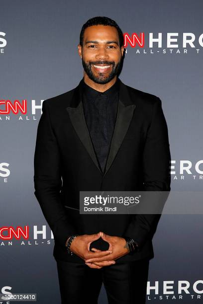 Omari Hardwick attends attends the 12th Annual CNN Heroes An AllStar Tribute at American Museum of Natural History on December 09 2018 in New York...