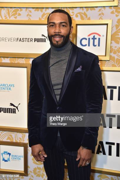 Omari Hardwick attends Roc Nation THE BRUNCH at One World Observatory on January 27 2018 in New York City