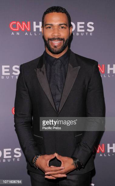 Omari Hardwick attends the 12th Annual CNN Heroes An AllStar Tribute at American Museum of Natural History