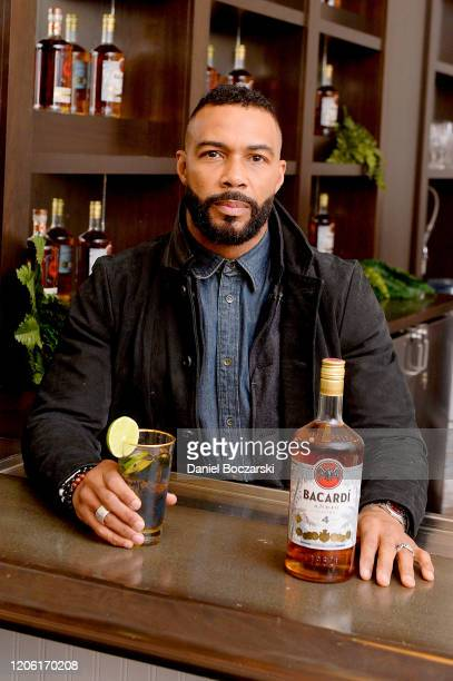 Omari Hardwick attends the BACARDI Rum Room in Chicago at Dance Studio on February 13 2020 in Chicago Illinois