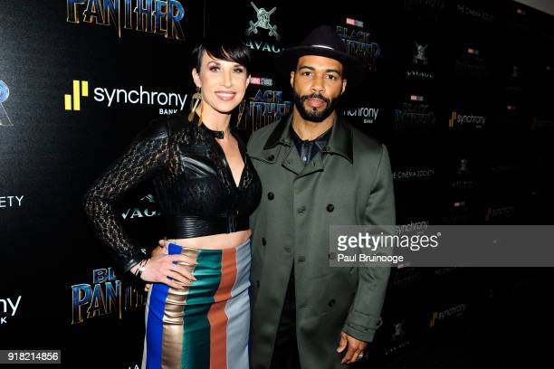 Omari Hardwick attends The Cinema Society with Ravage Wines Synchrony host a screening of Marvel Studios' 'Black Panther' at The Museum of Modern Art...