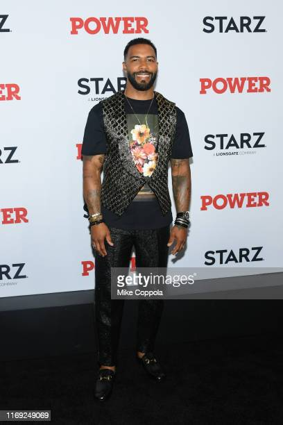 "Omari Hardwick attends the ""Power"" Final Season World Premiere at The Hulu Theater at Madison Square Garden on August 20, 2019 in New York City."
